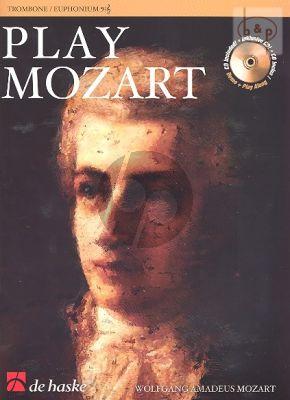 Play Mozart (Trombone) (TC/BC) (Bk-Cd) (easy-interm.)