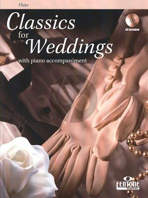 Album Classics for Weddings (Flute-Piano) (Book wth Cd)