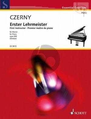 Erster Lehrmeister (First Intructor) Op.599 Czerny C.