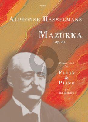 Hasselmans Mazurka Op.31 Flute and Piano (Ian Denley)