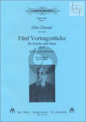 Orgelwerke Vol.4 (5 Votragsstucke fur Kirche und Haus Op.16)