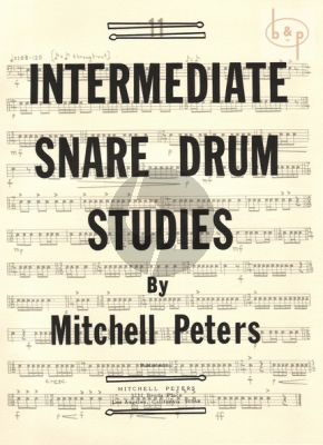 Intermediate Snare Drum Studies