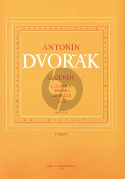 Dvorak Legenden Op.59 Klavier zu 4 Hd. (František Bartoš - Antonin Pokorný - Karel Šolc)