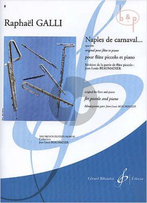Naples de Carnaval Op.336 (orig. Flute)