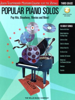 Popular Piano Solos (Pop Hits-Broadway-Movies and More)