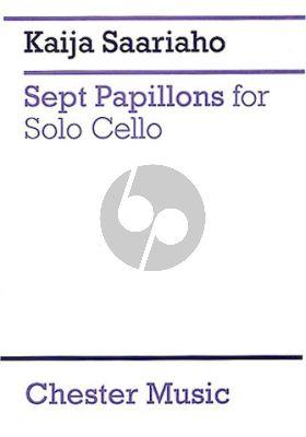 Saariaho 7 Papillons for Violoncello solo