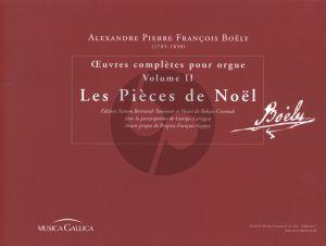 Boely Orgelwerke Vol.2 Werke Advent und Weihnachten (Herausgegeben von Nanon Bertrand, Henri de Rohan-Csermak, Georges Lartigau)