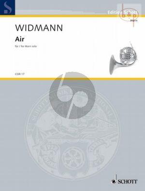 Widmann Air Horn solo (2005)