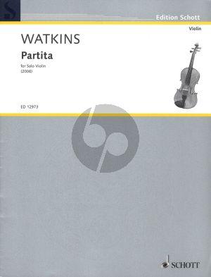 Watkins Partita Violin solo (2006)