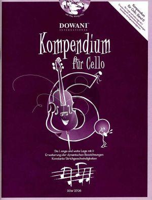 Kompendium für Cello Vol. 6 (Buch mit 2 CD's)