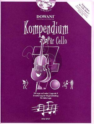 Kompendium für Cello Vol. 7 (Buch mit 2 CD's)