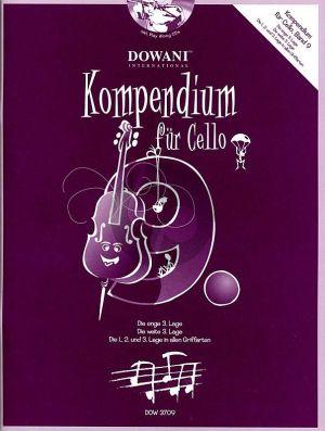 Kompendium für Cello Vol. 9 (Buch mit 2 CD's)