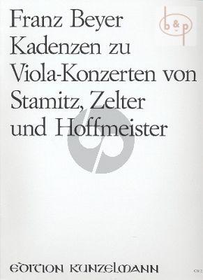 Cadenzas to Concertos by Hoffmeister-Stamitz and Zelter