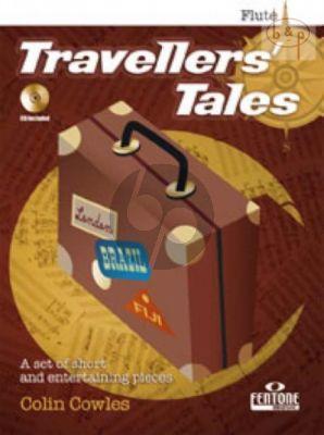 Travellers Tales (Flute-Piano) (Bk-CD) (interm.)