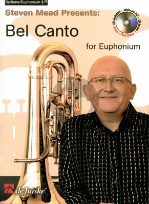 Mead Bel Canto (Baritone/Euphonium) (Treble Clef / Bass Clef) Book with Cd (Intermediate-Advanced Grades)