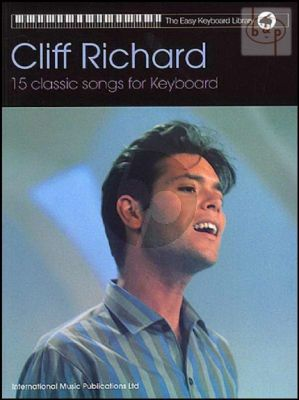 15 Classic Cliff Richard Songs for Keyboard with Lyrics