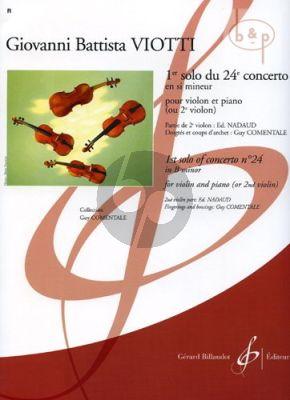 Concerto No.24 B-minor 1e Solo