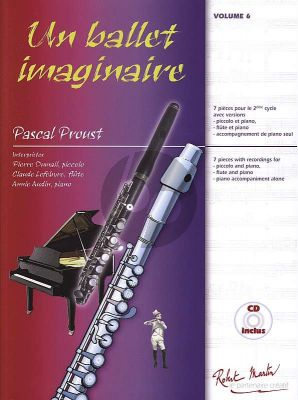Proust Un Ballet Imaginaire Flute[Piccolo] and Piano (Book with Cd)