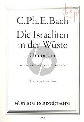 Die Israeliten in der Wuste WQ 238 (SSTB soli-SATB-Orch.) (Vocal Score)