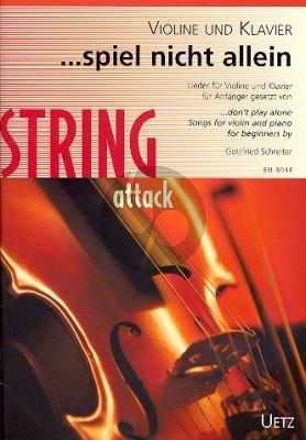 Spiel nicht allein Violine und Klavier