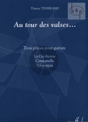 Au Tour des Valses pour Guitare