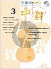 Violon 20 - 21 Vol.3 (Contemporary Pieces) (Violin Solo- 2 Violins- 3 Violins and Violin-Piano)