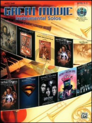 Great Movie Instrumental Solos (Alto Sax.)