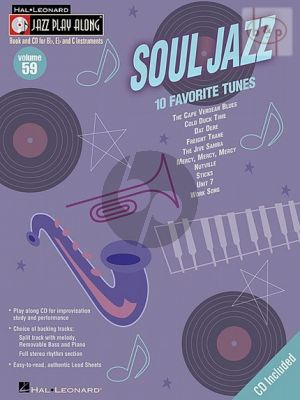 Soul Jazz (Jazz Play-Along Series Vol.59)