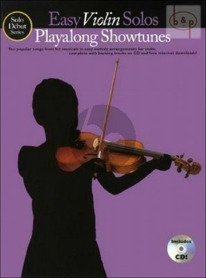 Solo Debut: Play-Along Showtunes (Violin)