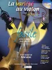 La Variete au Violon Vol.2 (with Piano Accomp. and Play-Along CD) (Bk-Cd)