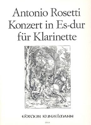 Rosetti Concerto Es-dur Klarinette-Orchester (KA.) (Hanspeter Gmür)