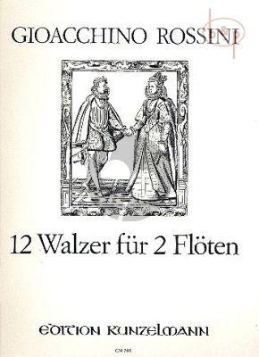 12 Walzer (2 Flutes)
