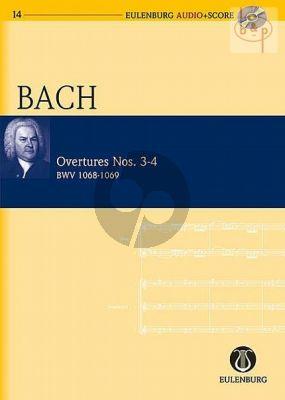 Overtures No.3 - 4 BWV 1068 - 1069