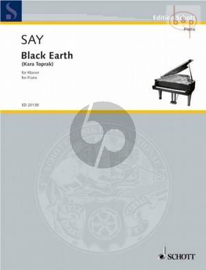 Say Kara Toprak - Black Earth Op. 8 Piano solo (1997) (adv.level)