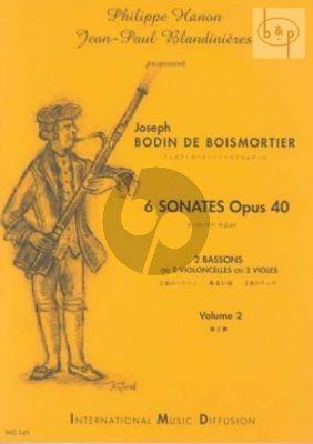 6 Sonates Op.40 Vol.2