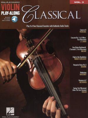 Classical Violin (Violin Play-Along Series Vol.3