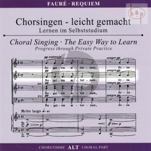 Requiem Op.48 Alto Voice CD