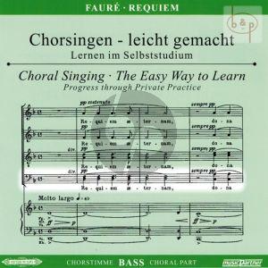 Requiem Op.48 Bass Voice CD