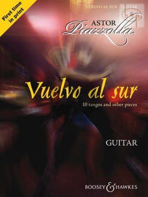 Piazzolla Vuelvo al Sur for Guitar