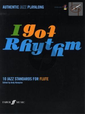I Got Rhythm (10 Jazz Standards) (Flute) (Bk-Cd)