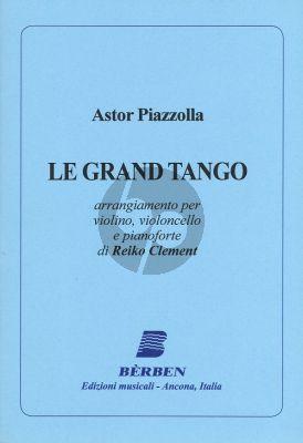 Piazzolla - Le Grand Tango (Score/Parts) (arr. Reiko Clement)