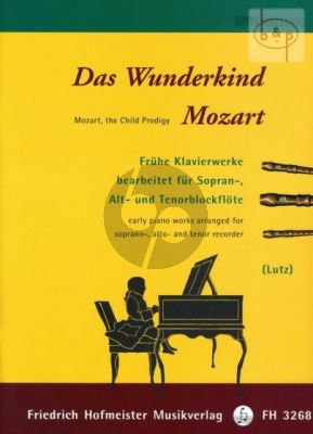 Das Wunderkind Mozart (arr. of early piano works) (3 Recorders)