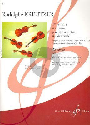 Sonate No.1 E-flat major Violin-Piano