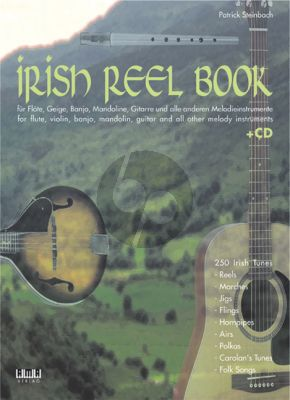 Steinbach Irish Reel Book for Melody Instruments Book with Cd