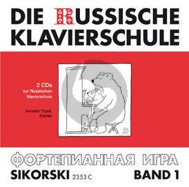 Nikolajew Die Russische Klavierschule Vol.1 (2 CD Set)