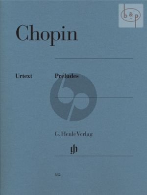 Chopin Preludes for Piano (edited by Norbert Müllemann) (Henle-Urtext)