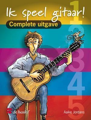 Jordans Ik speel gitaar kompleet (Vol.1 - 5)