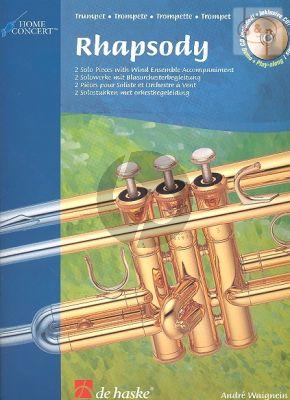 Rhapsody Trumpet Bk-CD