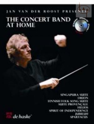 The Concert Band at Home (Clarinet) (Bk-Cd)