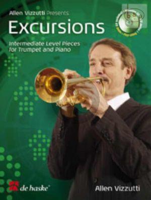Excursions (Trumpet-Piano) (Bk-Cd) (Play-Along/Demo)